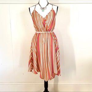charlie jade Dresses - Faux wrap Charlie Jade striped dress in XS